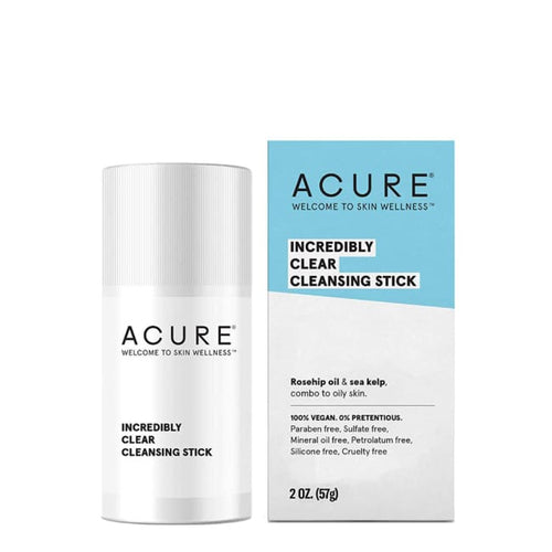 Acure Incredibly Clear Cleansing Stick - Cleanser
