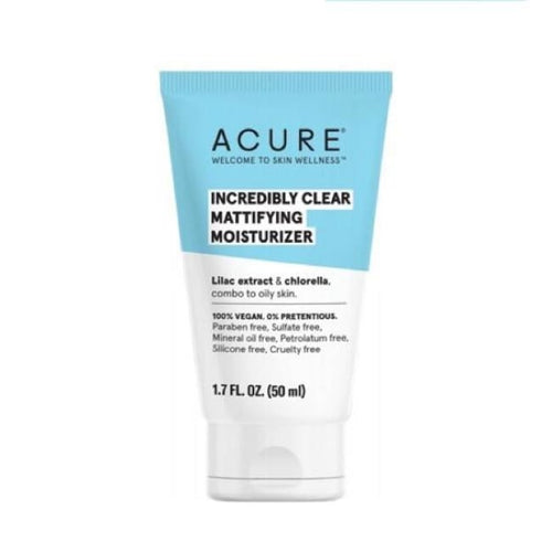 Acure Incredibly Clear Mattifying Moisturizer - Moisturiser