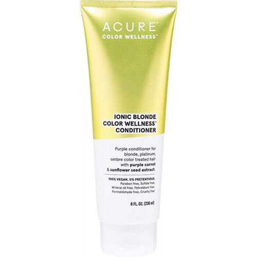 Acure Ionic Blonde Color Wellness Conditioner - Shampoo