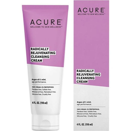 Acure Radically Rejuvenating Cleansing Cream - Cleanser