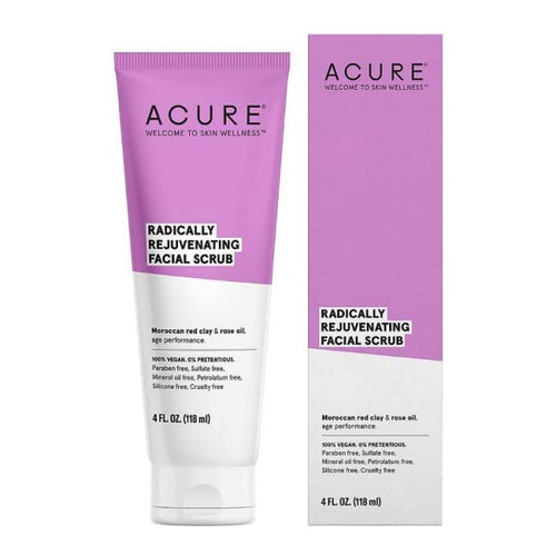 Acure Radically Rejuvenating Facial Scrub - Face Scrub