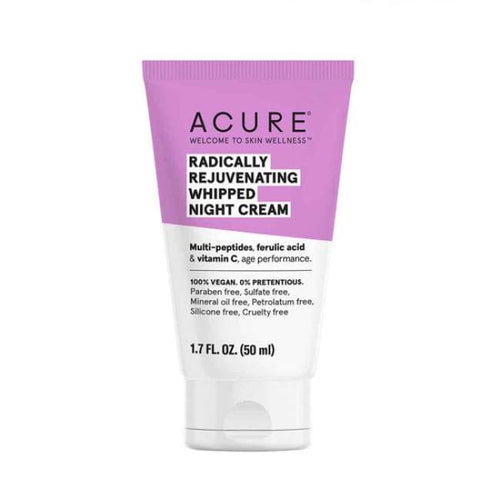 Acure Radically Rejuvenating Whipped Night Cream - Moisturiser