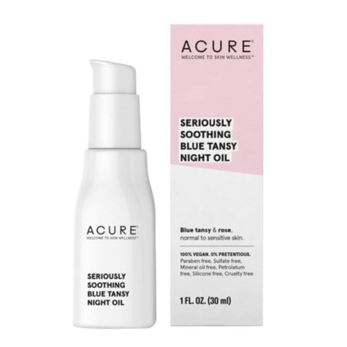 Acure Seriously Soothing Blue Tansy Night Oil - Oil