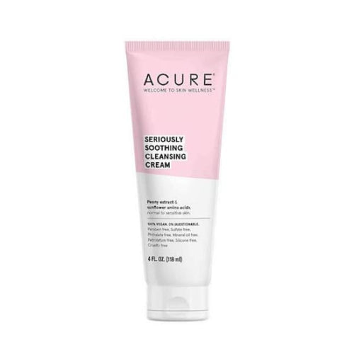 Acure Seriously Soothing Cleansing Cream - Cleanser