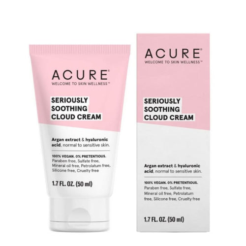 Acure Seriously Soothing Cloud Cream - Face Moisturiser
