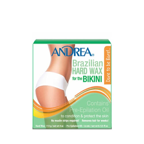 Andrea Brazilian Hard Wax - Hair Remover