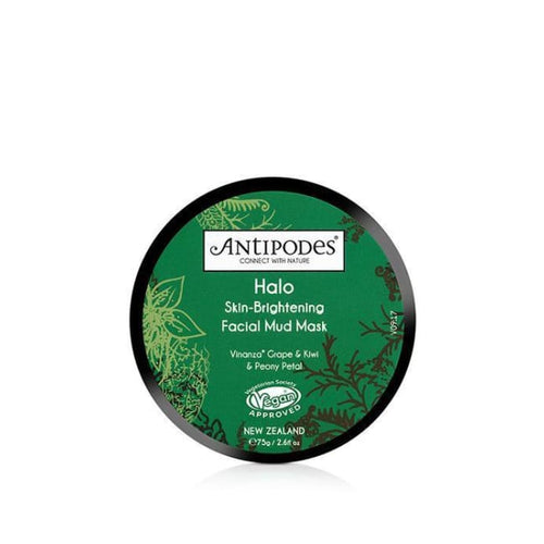 Antipodes Halo Skin-Brightening Facial Mud Mask - 75g - Mask