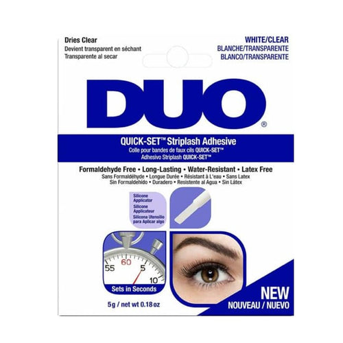 ARDELL Duo Quick-Set Striplash Adhesive - Clear - Glue