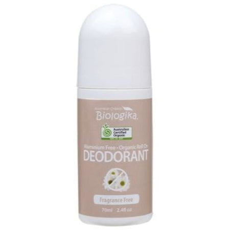 Biologika Fragrance Free Roll-On Deodorant