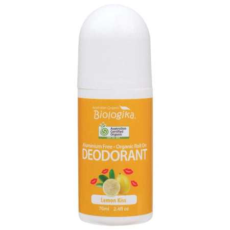 Biologika Lemon Kiss Roll-On Deodorant
