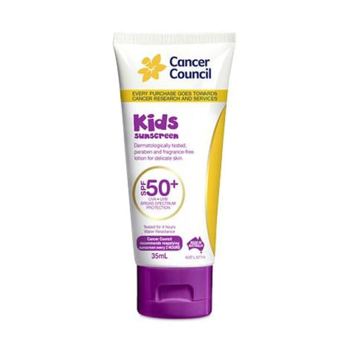 Cancer Council Kids Sunscreen SPF 50+ 35ml - Sunscreen