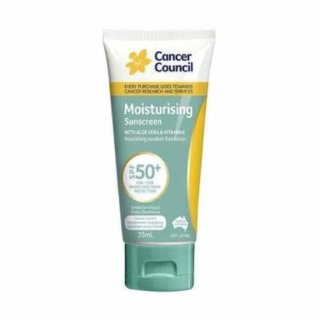 Cancer Council Moisturising Sunscreen SPF 50+ 35ml