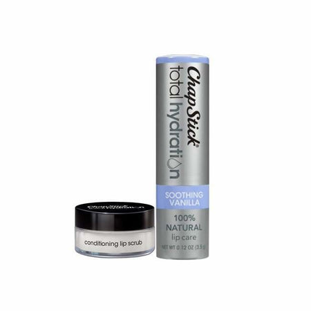 ChapStick Total Hydration Soothing Vanilla & Conditioning Lip Scrub