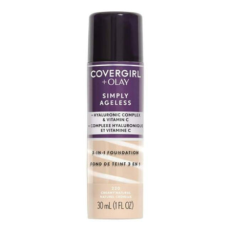 Covergirl + Olay Simply Ageless 3-In-1 Foundation - Creamy Natural
