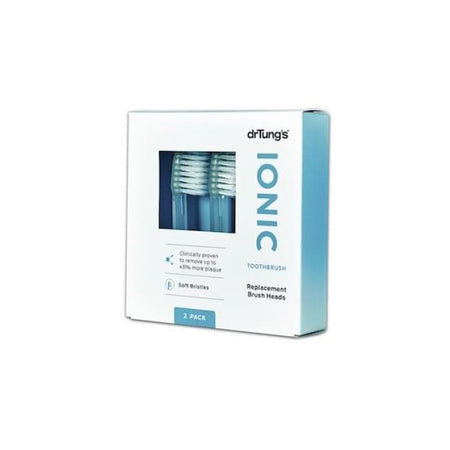 Dr Tung's Ionic Toothbrush Replacement Brush Heads