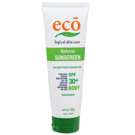 Eco Natural Sunscreen Body SPF 30+ 100g