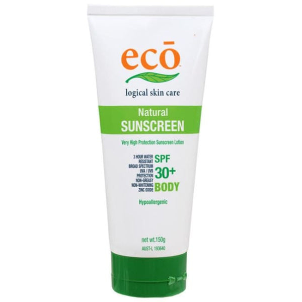Eco Natural Sunscreen Body SPF 30+ 150g - Sunscreen