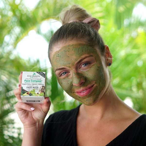 ECO TAN Face Compost - 7 Minute Luxe Face Mask - Mask
