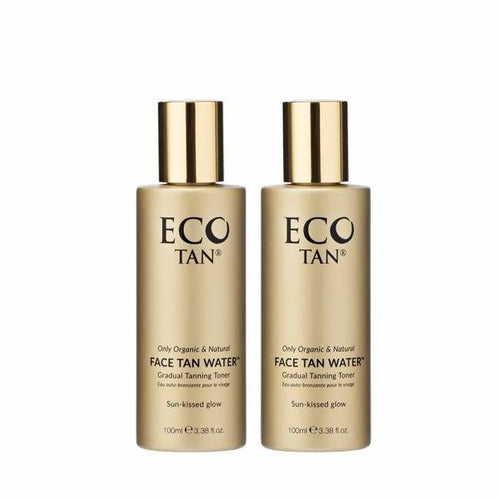 ECO TAN Face Tan Water Twin Pack - Tan