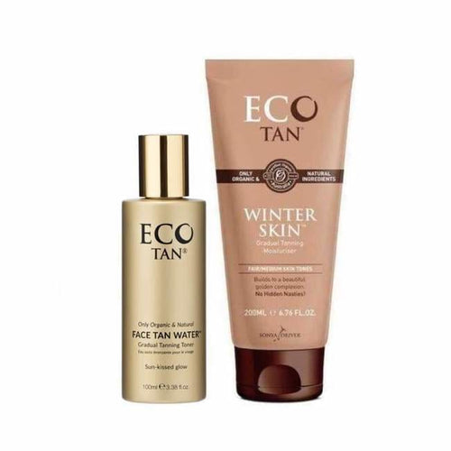 ECO TAN Gradual Tanning Duo - Tanning Pack