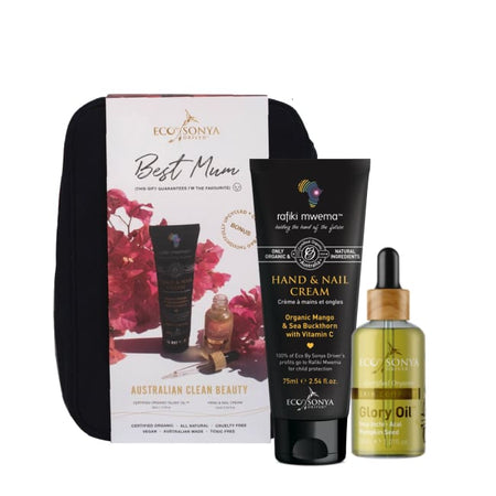 ECO TAN Mother's Day Gift Set - Glory Oil + Hand & Nail Cream for Rafiki Mwema