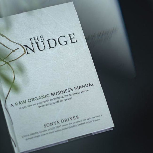 ECO TAN The Nudge By Sonya Driver - Book