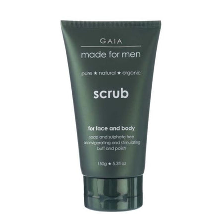 Gaia Made For Men Face & Body Scrub
