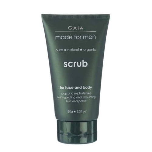 Gaia Made For Men Face & Body Scrub - Face Scrub