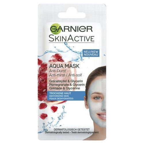 Garnier Skin Active Aqua Mask - Pomegranate & Glycerin - Mask