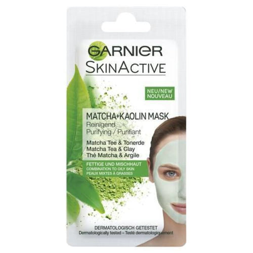 Garnier Skin Active Matcha + Kaolin Mask - Purifying - Mask