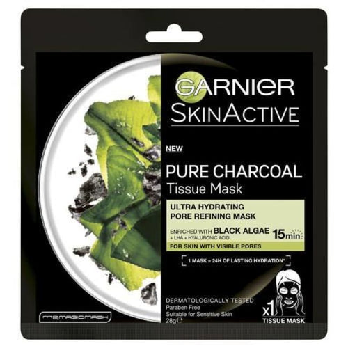 Garnier Skin Active Pure Charcoal Tissue Mask - Mask