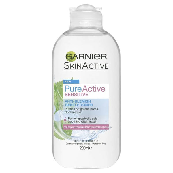 Garnier Skin Active Sensitive Anti-Blemish Gentle Toner - Toner