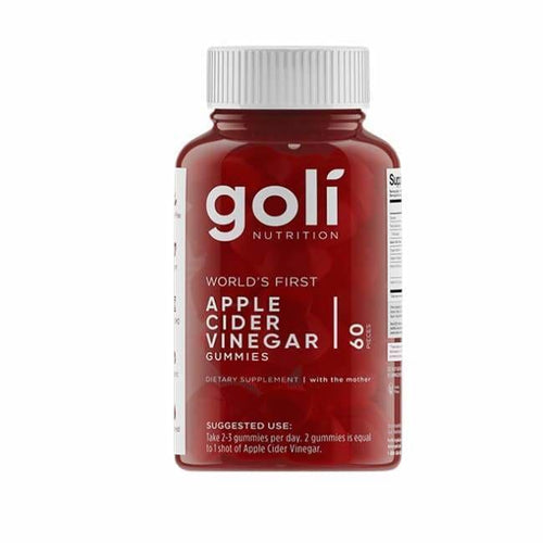 Goli Apple Cider Vinegar Gummies - Apple Cider Vinegar