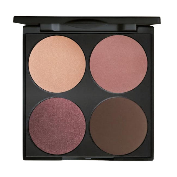 Gorgeous Cosmetics Romance Smokey Eyes 4 Pan Palette - Eyeshadow