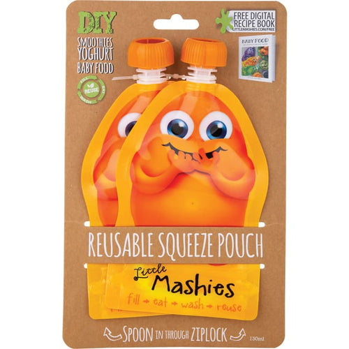 Little Mashies Reusable Squeeze Pouch - Pouch