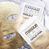 MasqueBAR Gold Foil Sheet Mask - Mask