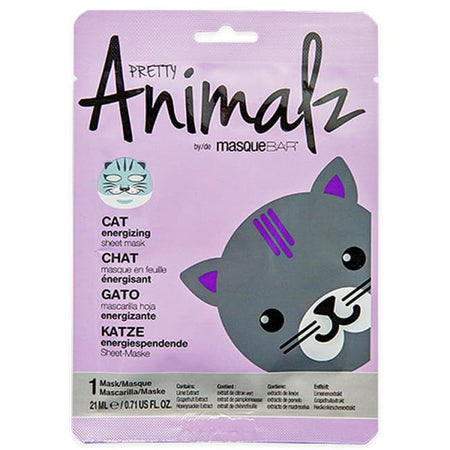 MasqueBAR Pretty Animalz Cat Sheet Mask