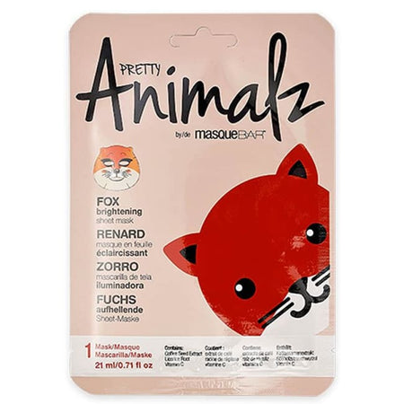 MasqueBAR Pretty Animalz Fox Sheet Mask