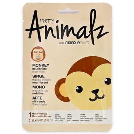 MasqueBAR Pretty Animalz Monkey Sheet Mask