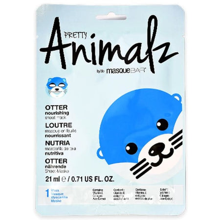 MasqueBAR Pretty Animalz Otter Sheet Mask