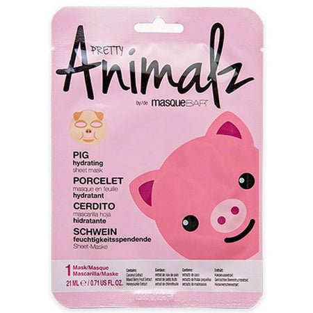 MasqueBAR Pretty Animalz Pig Sheet Mask