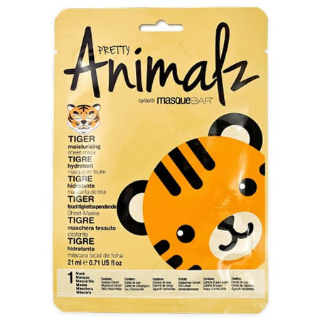 MasqueBAR Pretty Animalz Tiger Sheet Mask