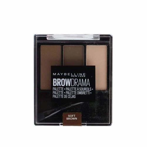 Maybelline Brow Drama Palette - Soft Brown - Brow Palette