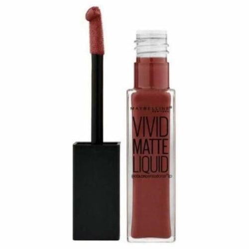 Maybelline Color Sensational Vivid Matte Liquid Lipstick - Coffee Buzz - Lipstick