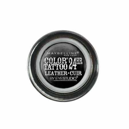 Maybelline Color Tattoo Leather 24HR Eye Shadow - Dramatic Black