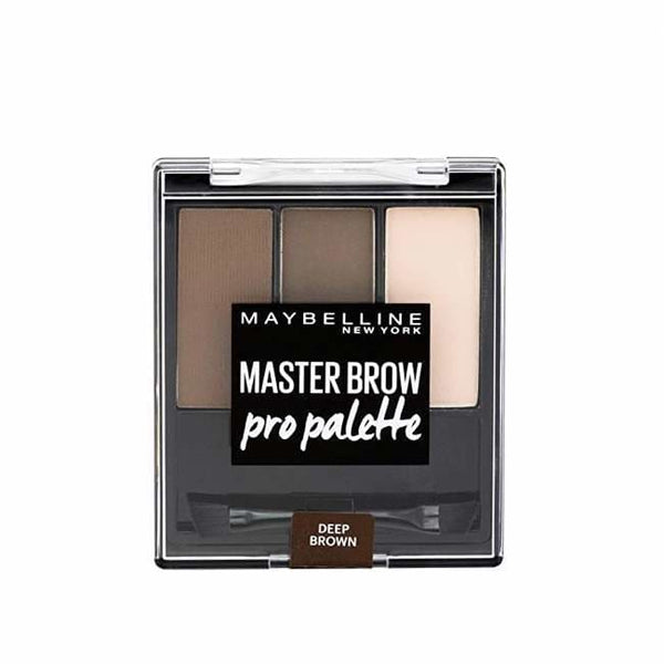Maybelline Master Brow Pro Palette - Deep Brown - Brow Palette