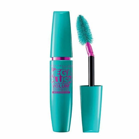 Maybelline Volum' Express The Mega Plush Mascara - Blackest Black