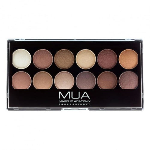MUA 12 Shade Heaven and Earth Palette - Eyeshadow