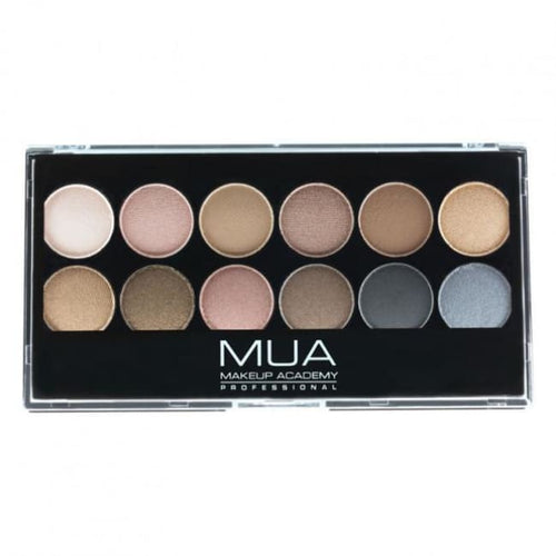 MUA 12 Shade Undressed Eyeshadow Palette - Eyeshadow