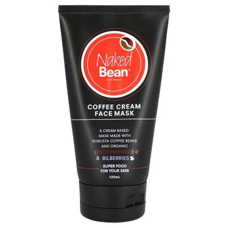 Naked Bean Coffee Cream Face Mask